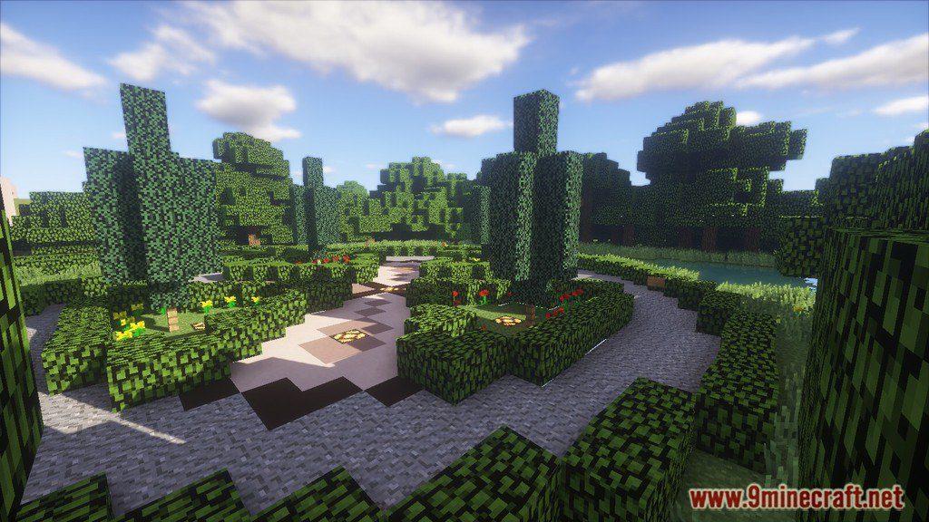 Redstone House Map 11221112 For Minecraft 9minecraftnet