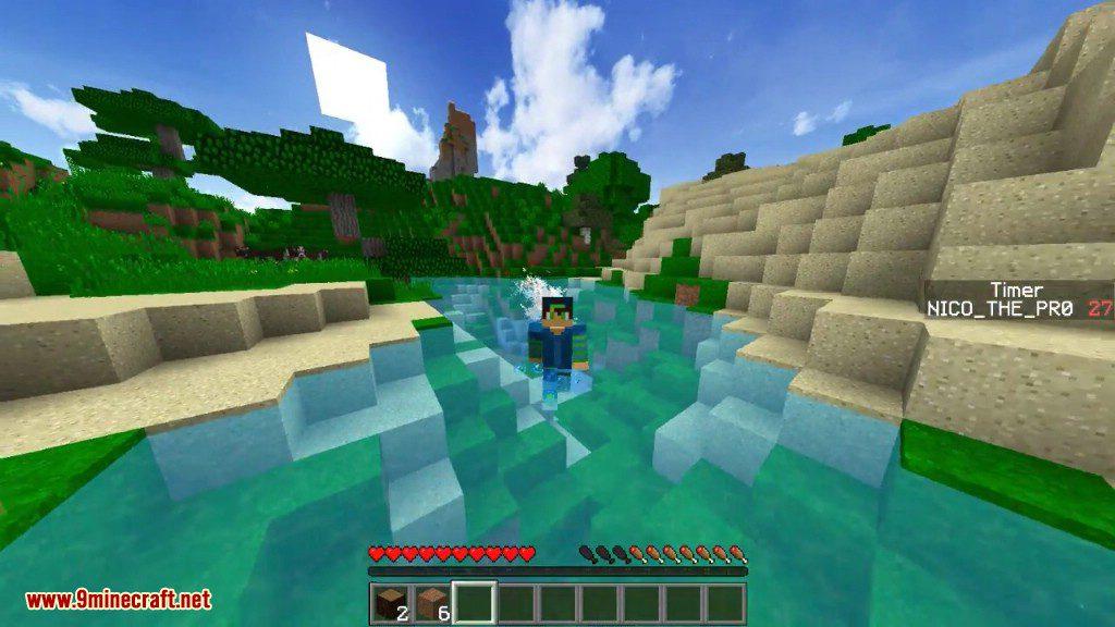 Silverfish Survival Challenge Command Block Screenshots 10