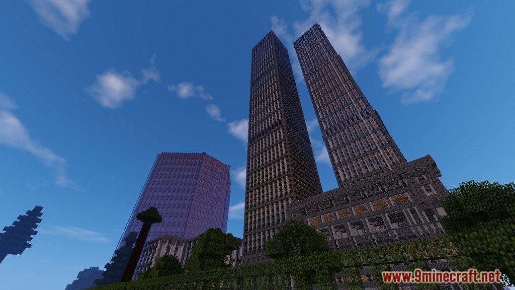 Twin Towers: The S.H. Toinne Center Map Screenshots 1