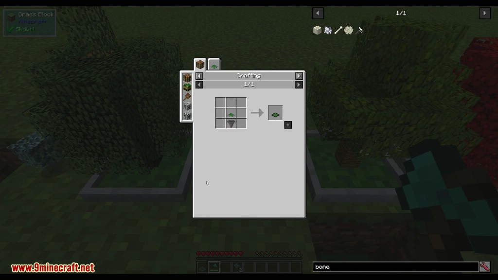 Bonsai Trees Mod Crafting Recipes 2