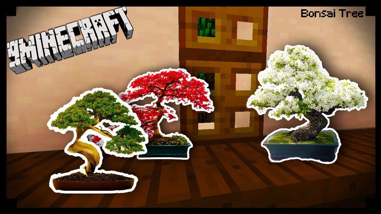 Bonsai Trees Mod 1 12 2 Small Trees Tiny Trees