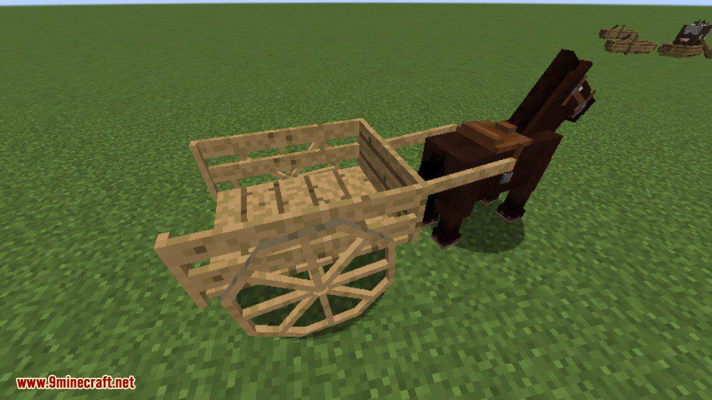 Horse Carts Mod Screenshots 2