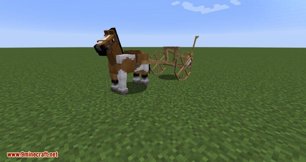 Horse Carts Mod Screenshots 3