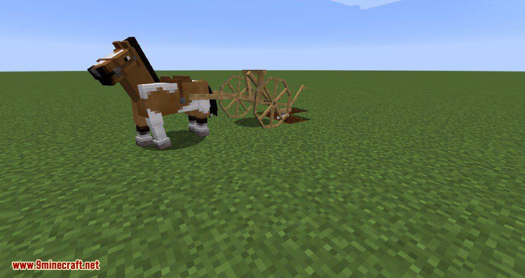 Horse Carts Mod Screenshots 4
