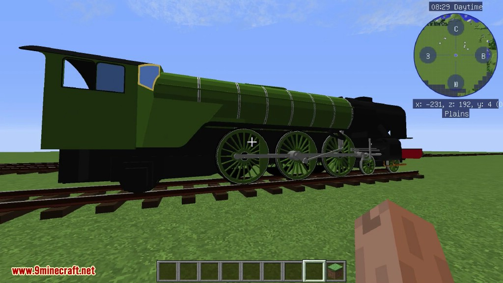 Immersive Railroading Mod 1 12 2/1 11 2 (New Transport System