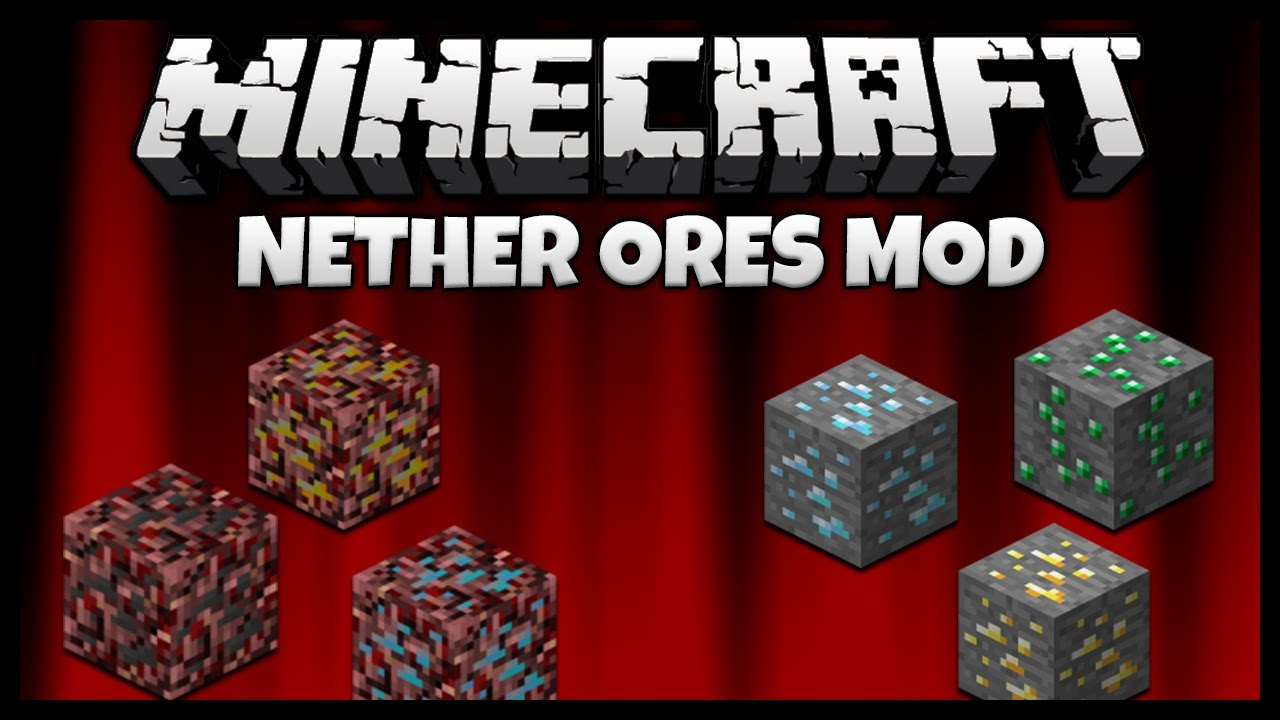 Minecraft NetherOres Mod 1.7.10/1.6.4 Download