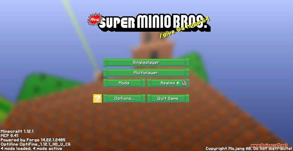 New Super Minio Bros Resource Pack Screenshots 1