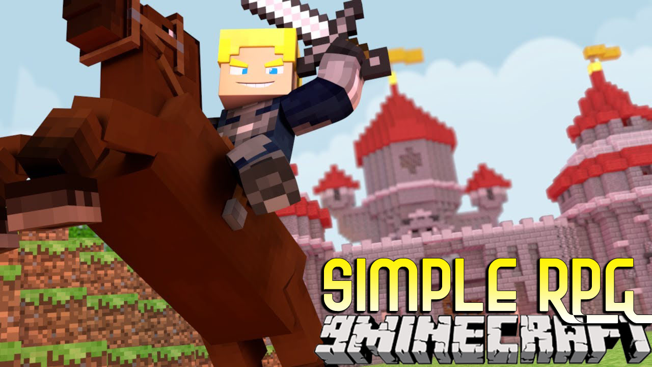 Simple RPG Mod 1.10.2 (Adding RPG Mechanics to Minecraft)