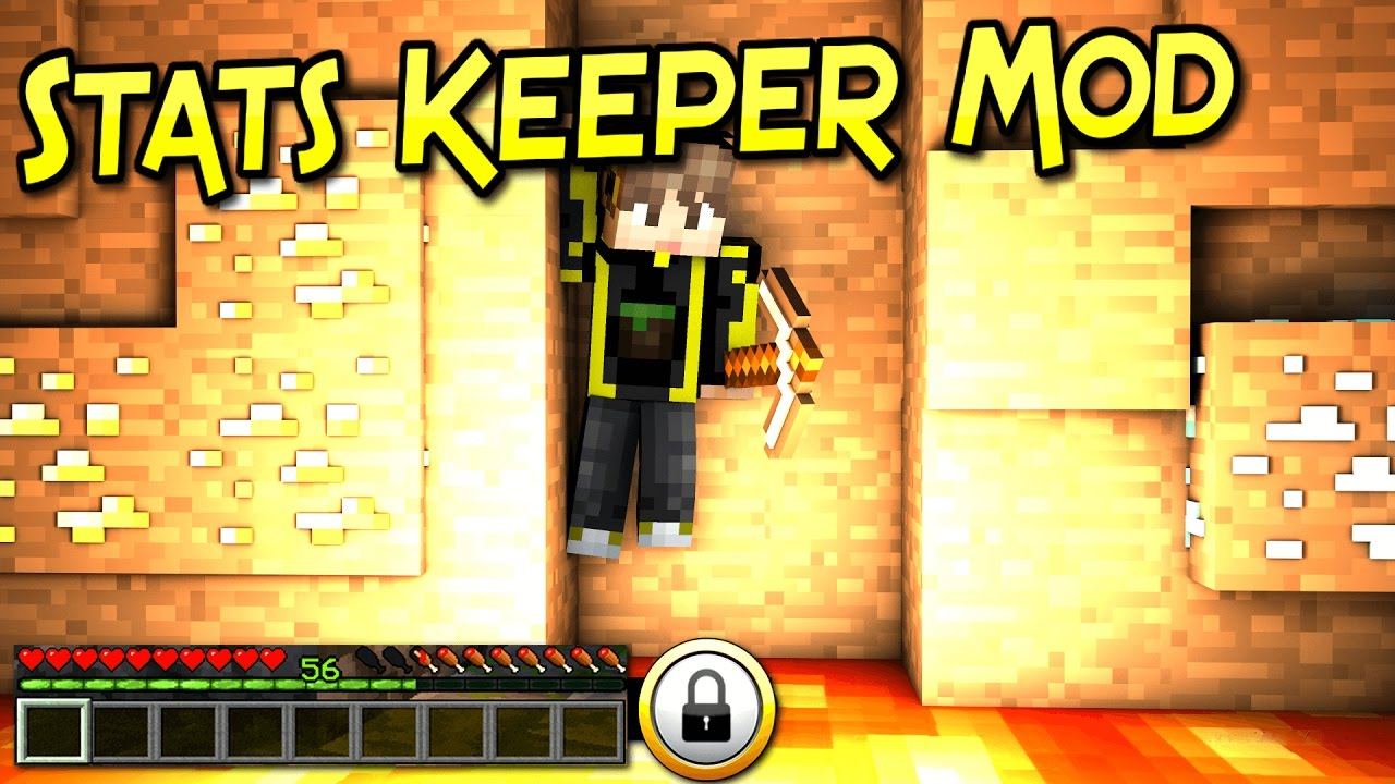 Stats Keeper Mod 1.12.2/1.11.2 (Save Your Stats on Death)