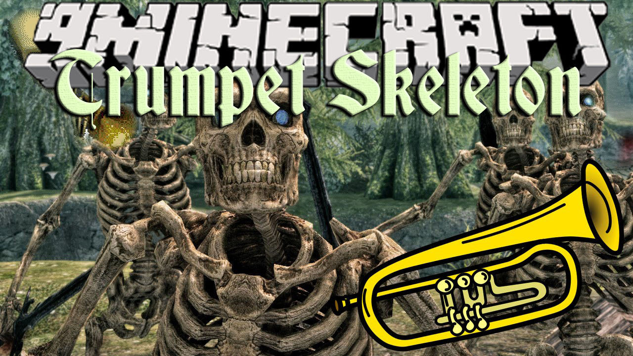Trumpet Skeleton Mod 1.12.2 (The Sound of Trumpets Echoes Through the Night)