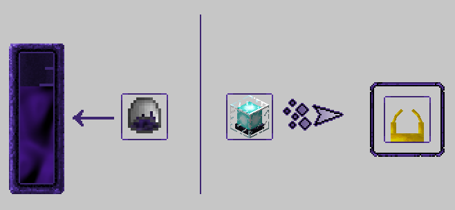 how to make a obsidian generator 1.11