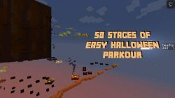 50 Stages Of Easy Halloween Parkour Map Thumbnail