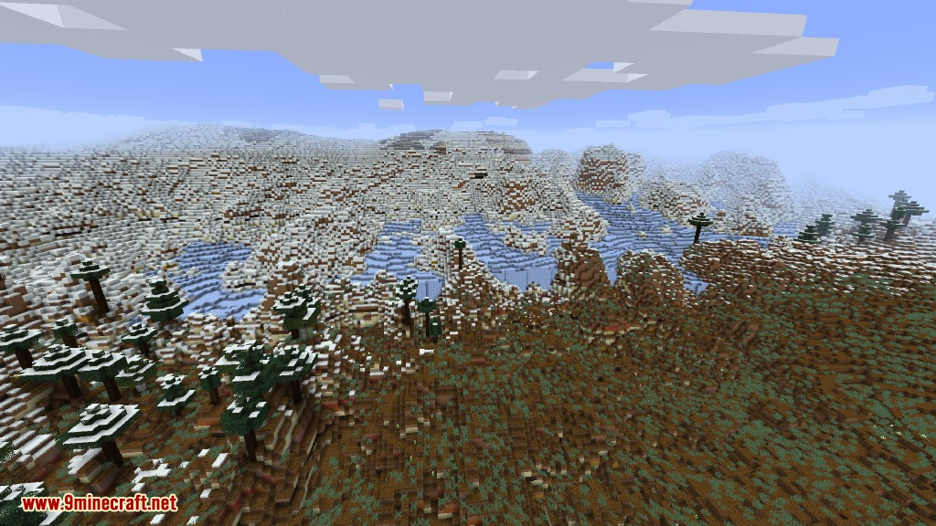 Glaciers in Dooglamoo Worlds
