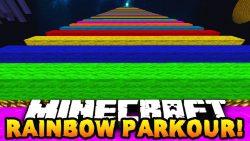 Easiest Rainbow Parkour Map Thumbnail