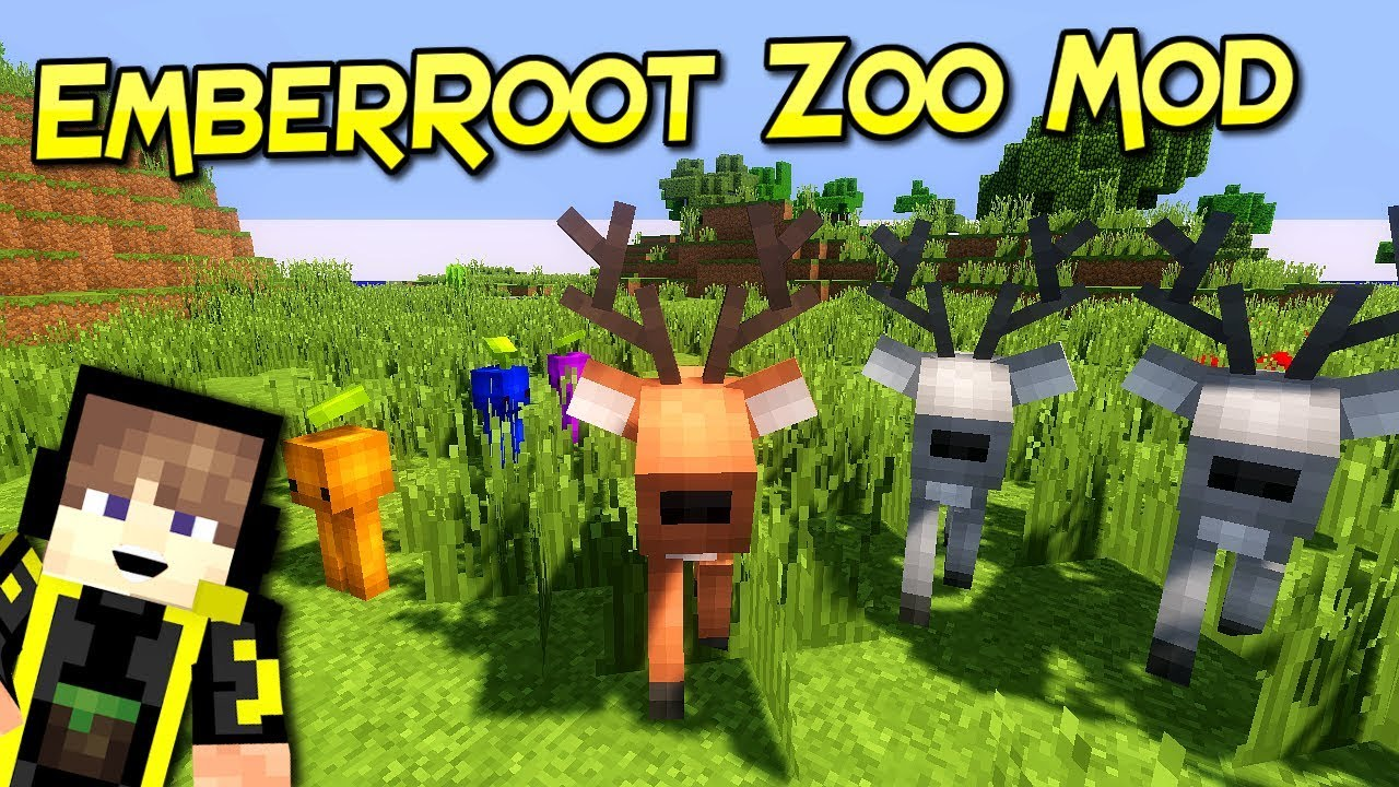 EmberRoot Zoo Mod 9.99.9 (Various Monsters for Adventure