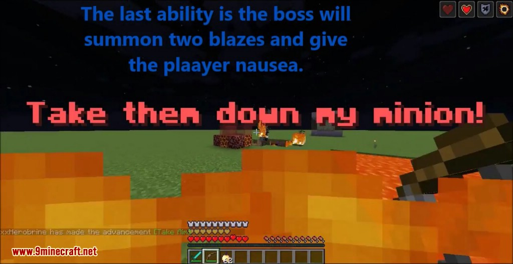 Fire Lord Boss Command Block Screenshots 12