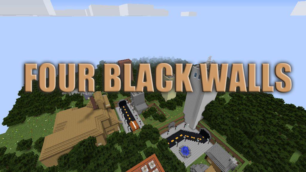 Four Black Walls Map Thumbnail