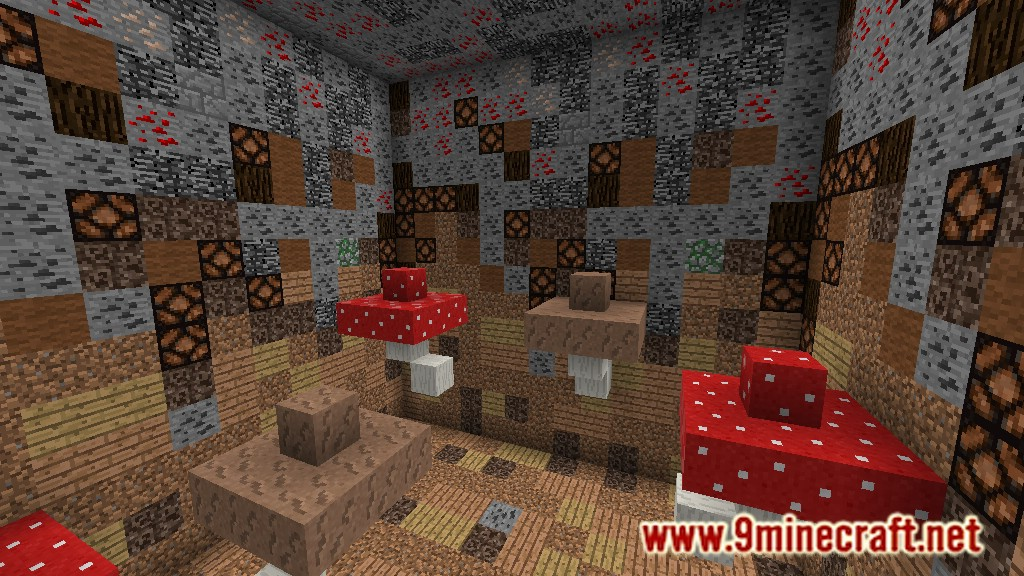 Giant Blocks Tunnel Map Screenshots 11