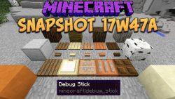 Minecraft 1.13 Snapshot 17w47a