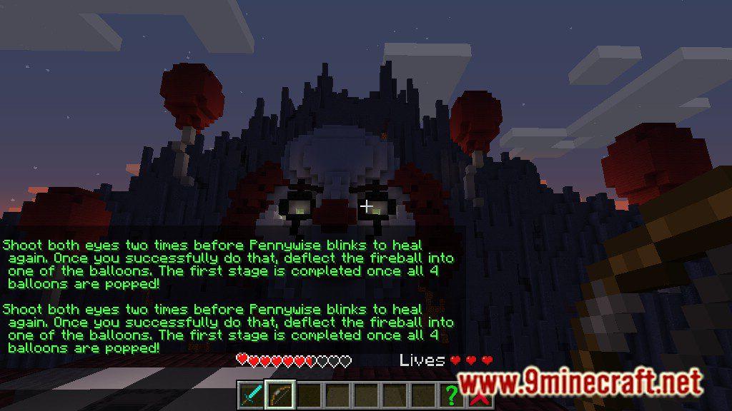 Pennywise Boss Battle Map Screenshots 3
