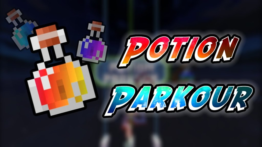 Potions Parkour Map Thumbnail