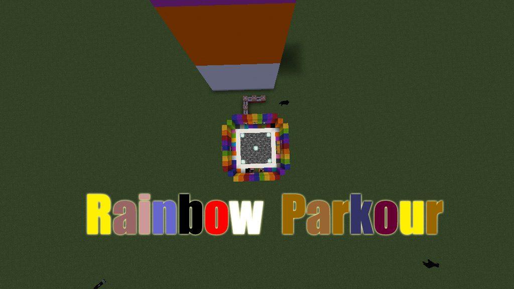 Rainbow Parkour Map Thumbnail
