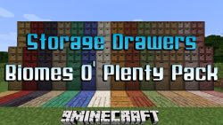 Storage Drawers Biomes O' Plenty Pack Mod
