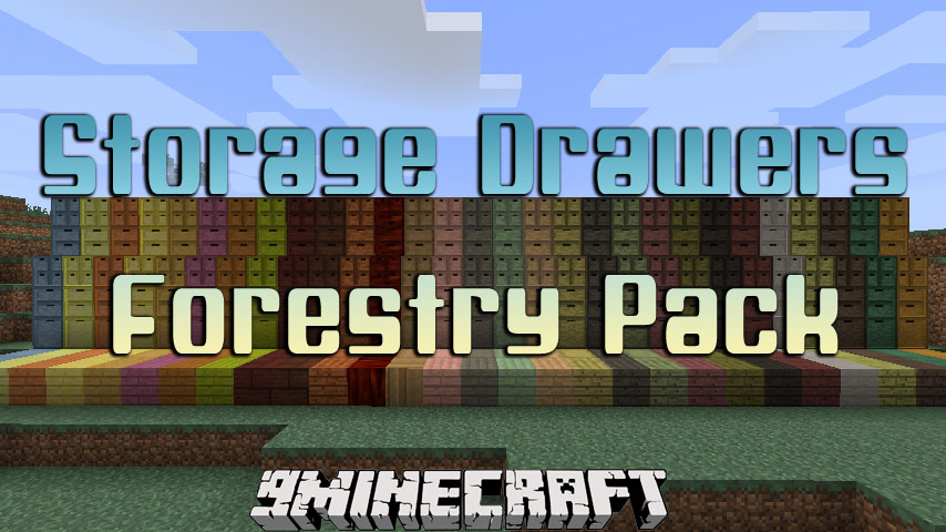Storage Drawers Forestry Pack Mod