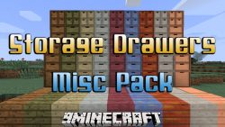 Storage Drawers Misc Pack Mod