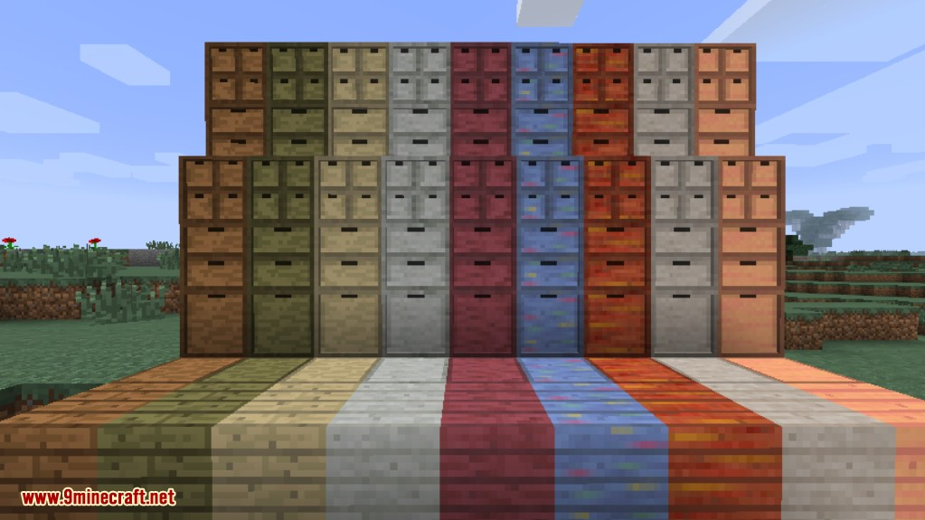 Storage Drawers Misc Pack Mod Screenshots 1