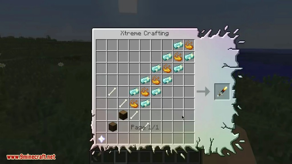 Minecraft craft crafting recipes