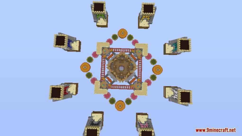 Bed Wars Map For Minecraft MinecraftNet - Minecraft bedwars spielen kostenlos