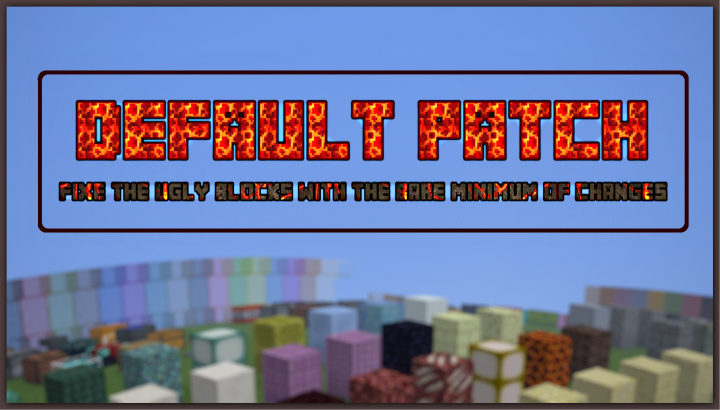 Default Patch Resource Pack