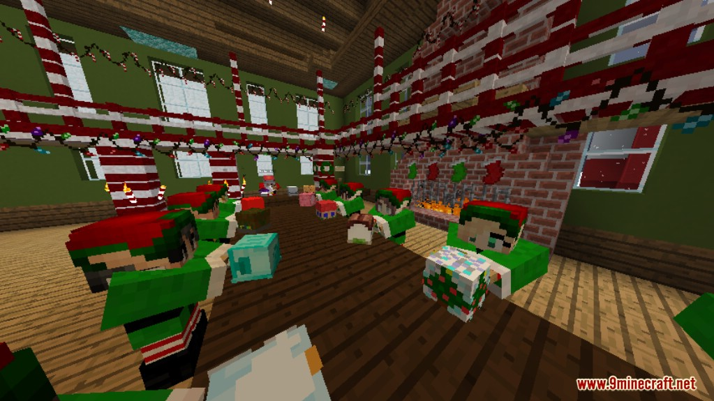 Find The Button Christmas Dreams Map Screenshots 5