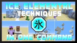 Ice Elemental Techniques Command Block