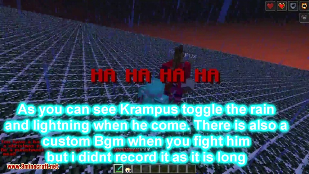 Krampus Boss Fight Command Block Screenshots 8