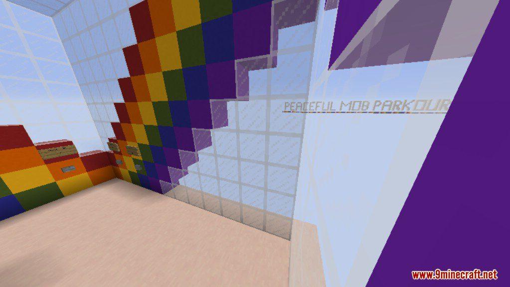 Peaceful Mob Parkour Map Screenshots 12