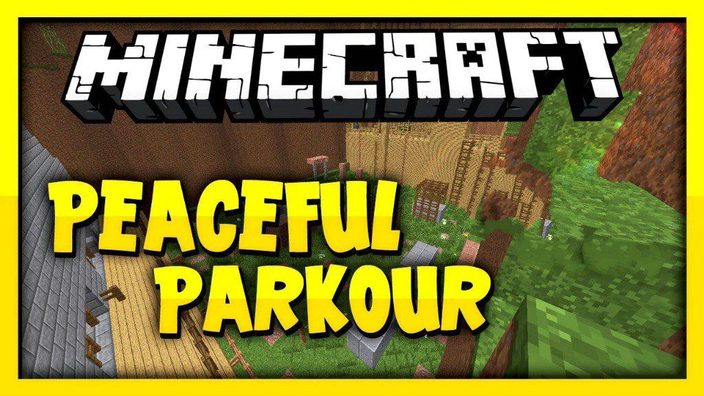 Peaceful Mob Parkour Map Thumbnail