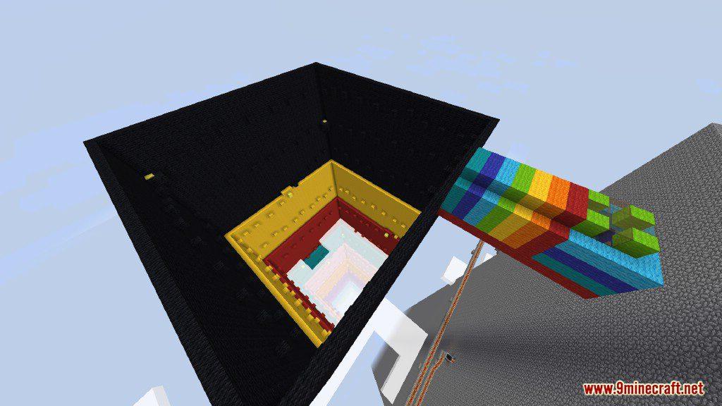 Rainbow Parkour (Dropper) Map Screenshots 8