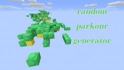 Random Parkour Generator Map Thumbnail