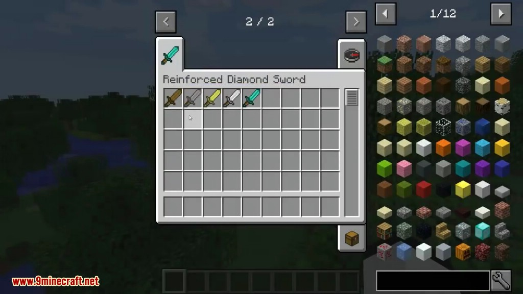 Reinforced Diamond Sword Mod Screenshots 1