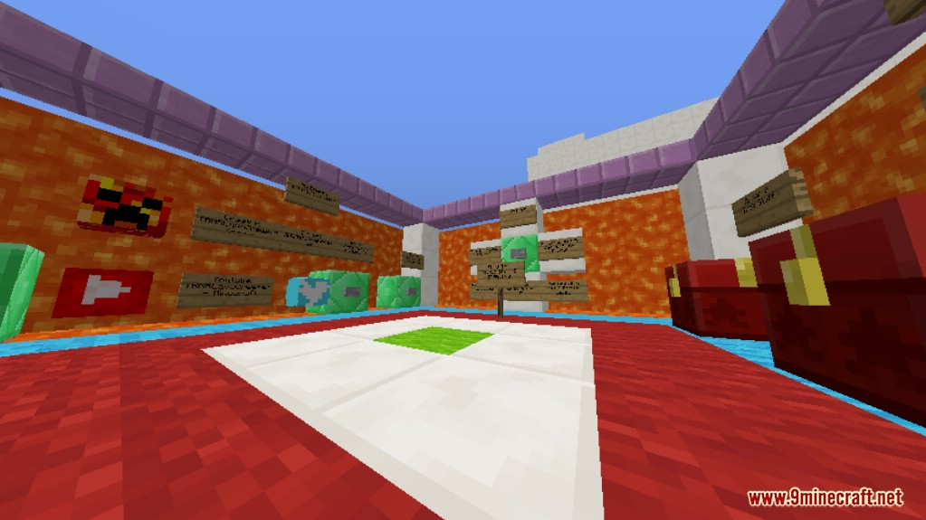 Sprint Lava Parkour 3 Map Screenshots 4
