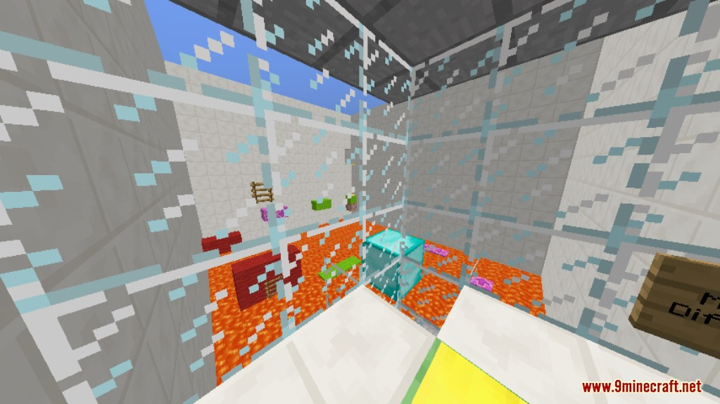 Sprint Lava Parkour 3 Map Screenshots 9