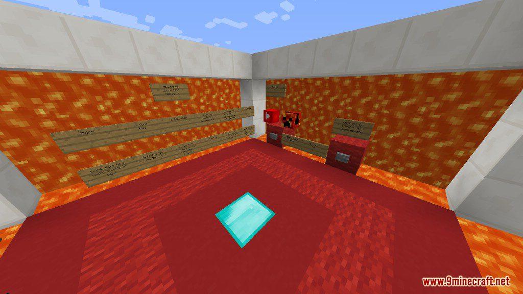 Sprint Lava Parkour Map Screenshots 1