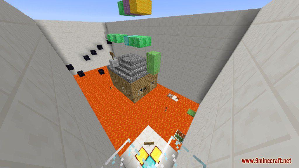 Sprint Lava Parkour Map Screenshots 10