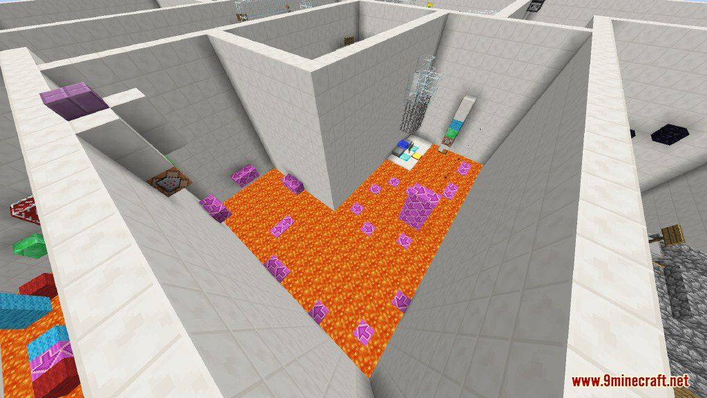 Sprint Lava Parkour Map Screenshots 11