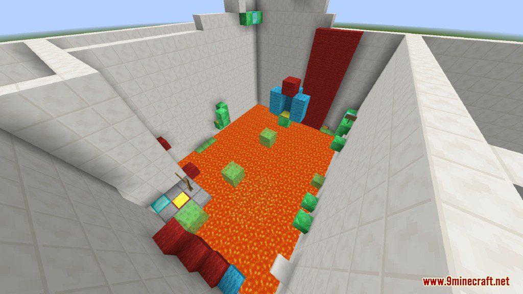 Sprint Lava Parkour Map Screenshots 13