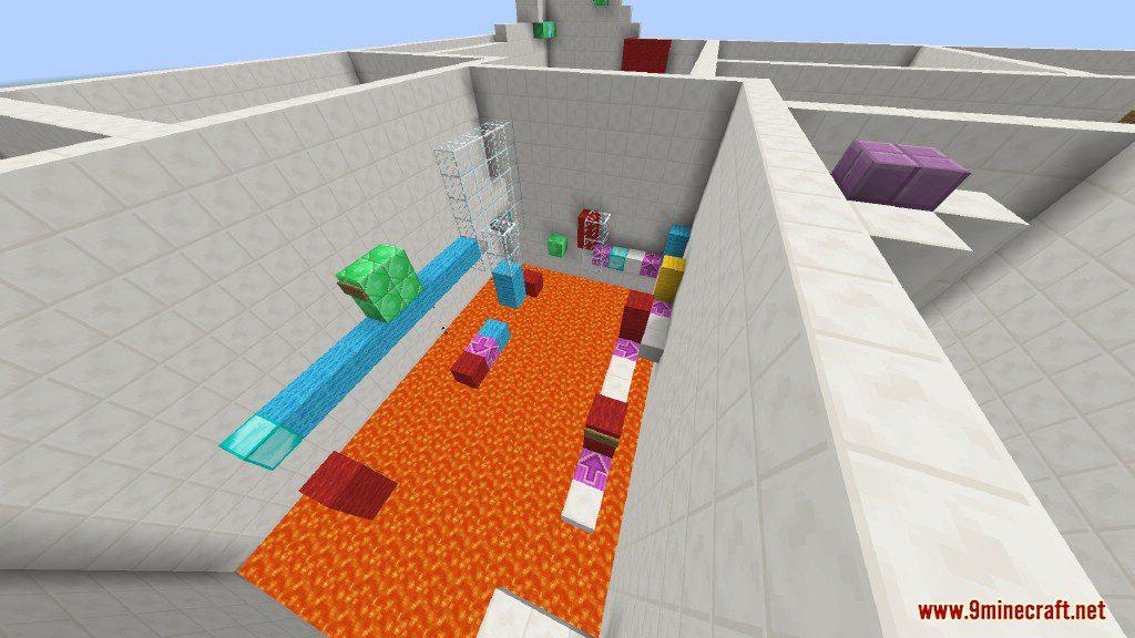 Sprint Lava Parkour Map Screenshots 14