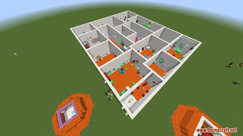 Sprint Lava Parkour Map Screenshots 16