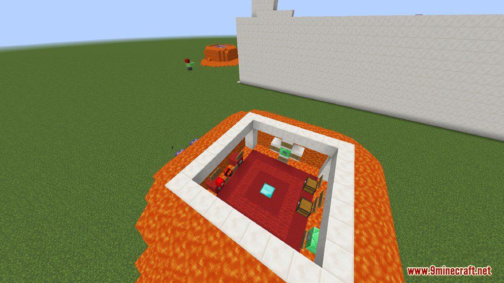 Sprint Lava Parkour Map Screenshots 2
